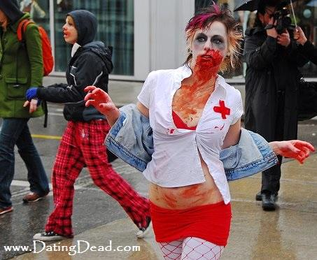 Zombie dating profile