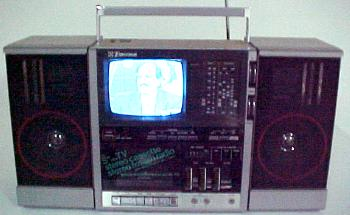 Click here to see Boom Box with TV