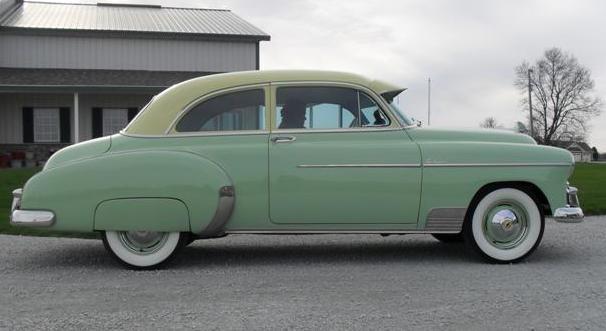 1950 chevrolet styleline deluxe 2 door sedan deluxe ebay for 1950 chevy 2 door sedan
