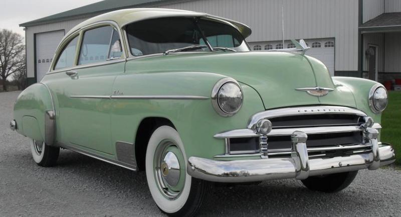 1950 chevrolet deluxe styleline 2 door sedan for sale by for 1950 chevy styleline deluxe 4 door sedan
