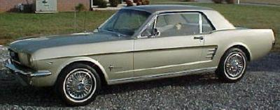 Nice 1966 Mustang Coupe Sauterne Gold 15 000 See At Www