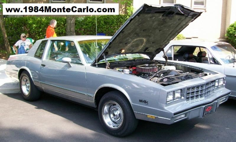 Ed Lea S 1984 Monte Carlo Ls With 350 Crate Motor